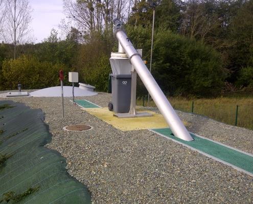 Station épuration filtres plantés dans la commune de ARDENAY-SUR-MÉRIZE