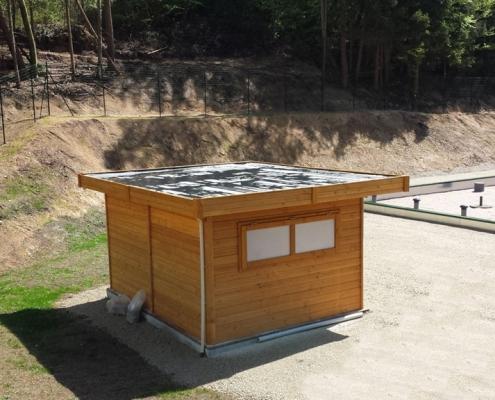 Station épuration filtres plantés dans la commune de ROCHES-BETTAINCOURT
