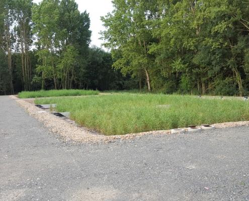 Station épuration filtres plantés dans la commune de SOUVIGNY-DE-TOURAINE
